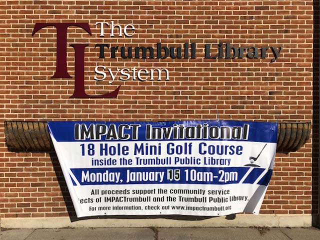 Impact Trumbull Favicon Golf Banner
